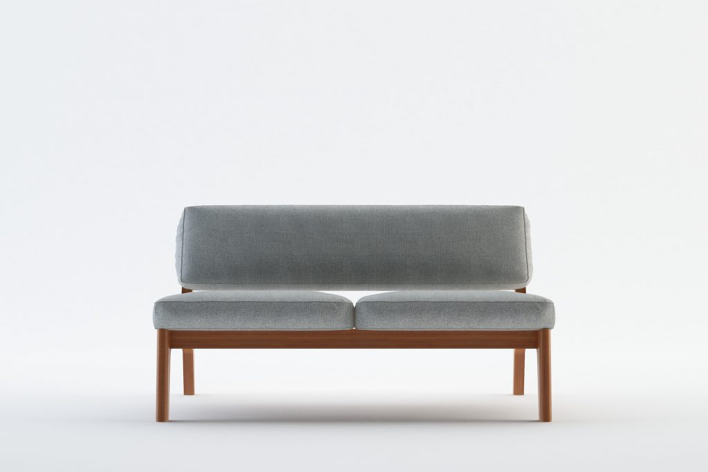 TEIDE 2 - MOKKOMOKKO Peak Solid Wood Fabric Sofa Furniture