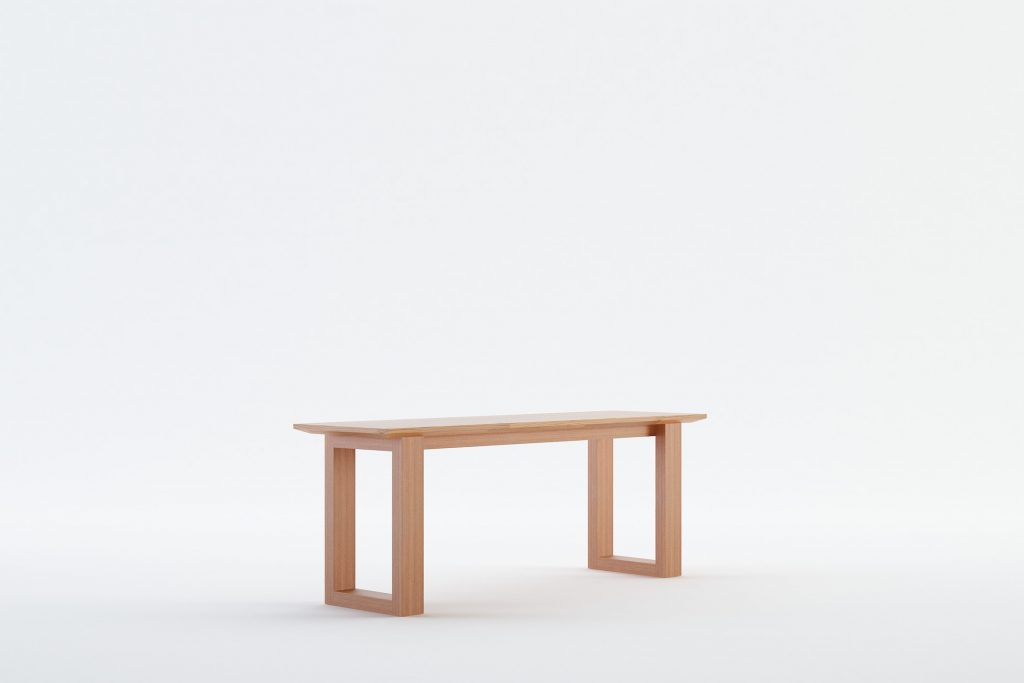 DADU - MOKKOMOKKO Solid Wood Bench Furniture