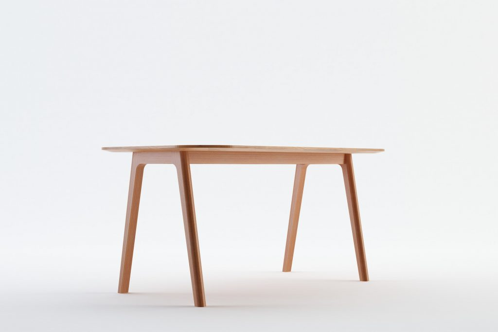 HAYES - MOKKOMOKKO Peak Solid Wood Dining Table Furniture