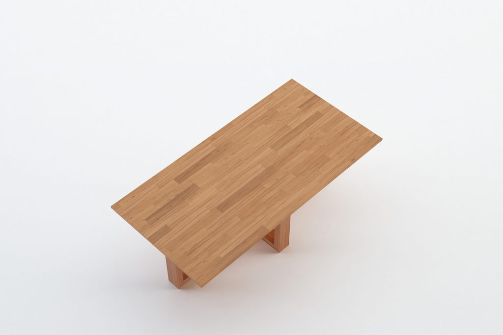 POTWAR - MOKKOMOKKO Plateau Solid Wood Coffee Table Furniture