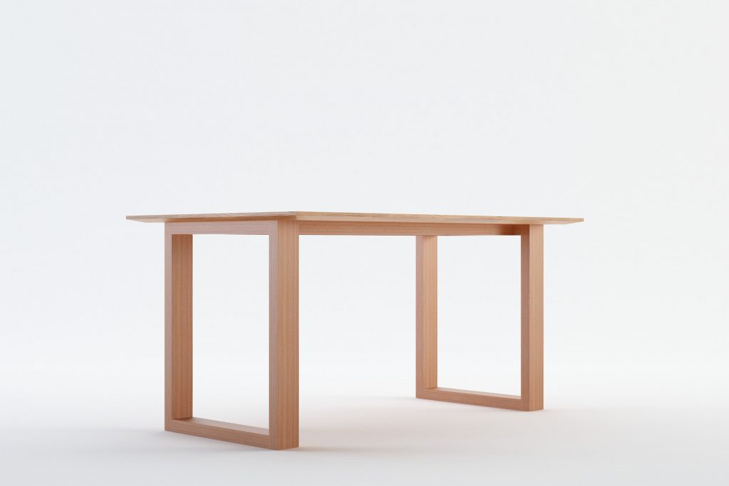AUYAN - MOKKOMOKKO Plateau Solid Wood Dining Table Furniture
