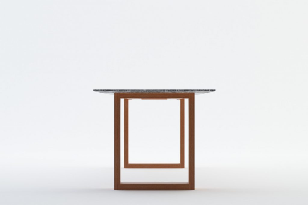 ANDEAN - MOKKOMOKKO Plateau Marble Dining Table Furniture