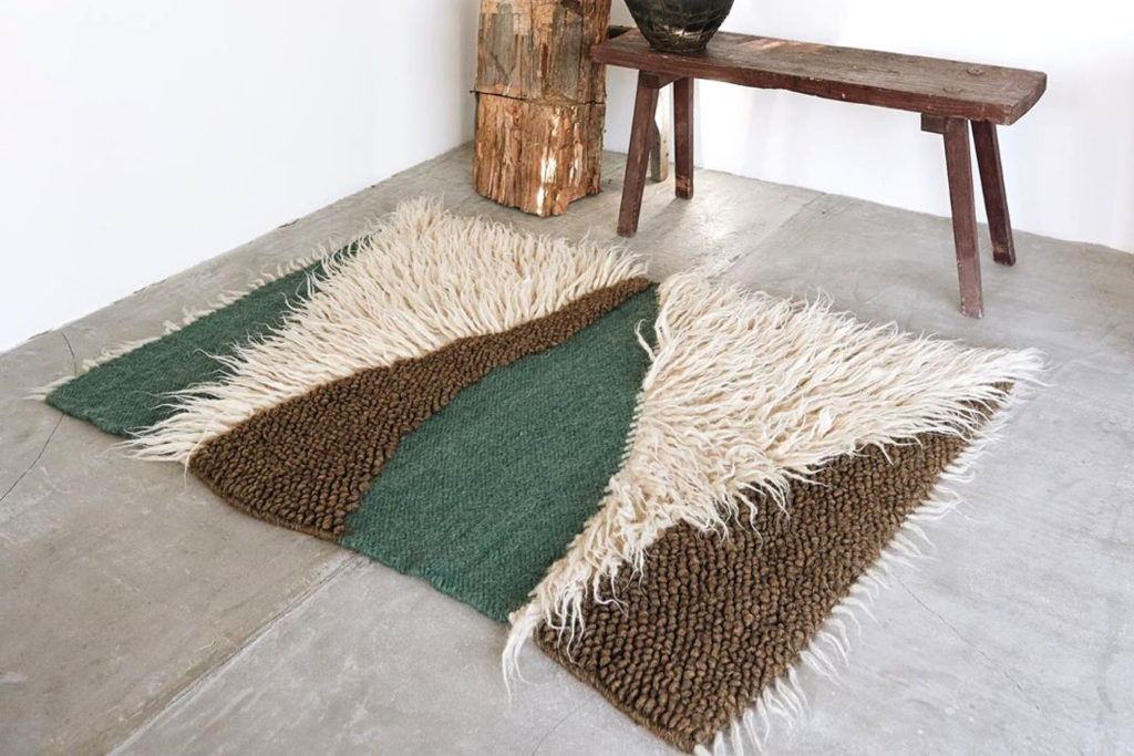 LIS KAVA - GUSHKA Forest Wool Carpet