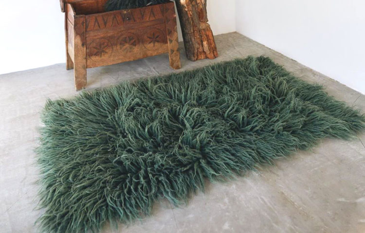 LIS ZELENYY - GUSHKA Forest Wool Carpet